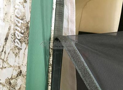 Съемная москитная сетка, которую можно заменить на окно или тканевую заглушку. Армейская палатка Роснар Р-34
