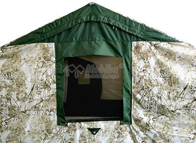 Армейская палатка Роснар Р-34. Защитный клапан на вентиляционном окне