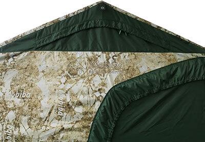 Армейская палатка Роснар Р-34. Закрытое вентиляционное окно