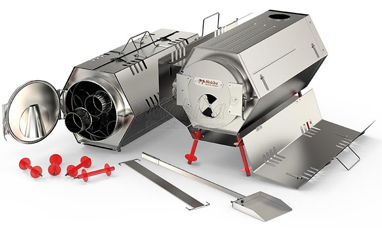 Универсальная печь МегаСогра. И для отопления и для банных процедур